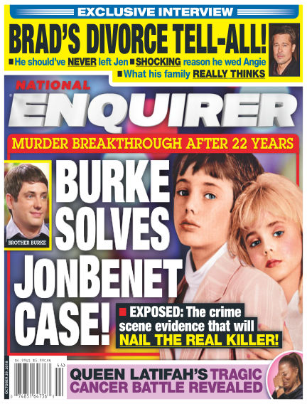 National Enquirer October 19, 2018 00:00