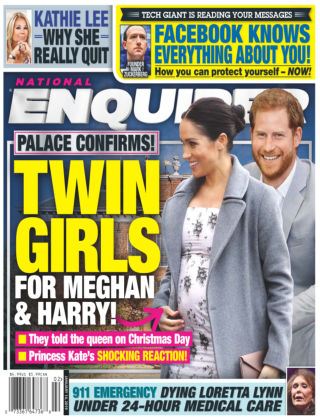 National Enquirer Jan 14 2019