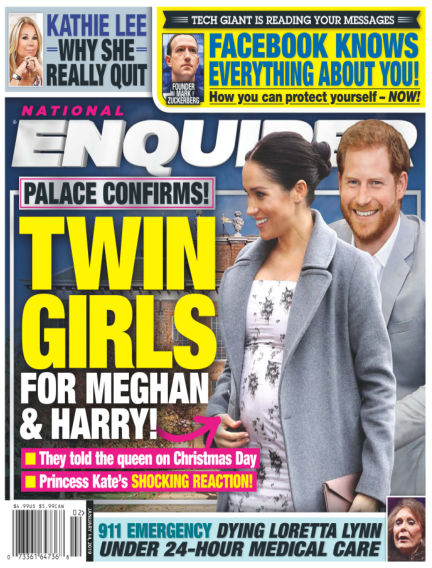 National Enquirer January 04, 2019 00:00