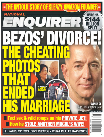 National Enquirer January 18, 2019 00:00