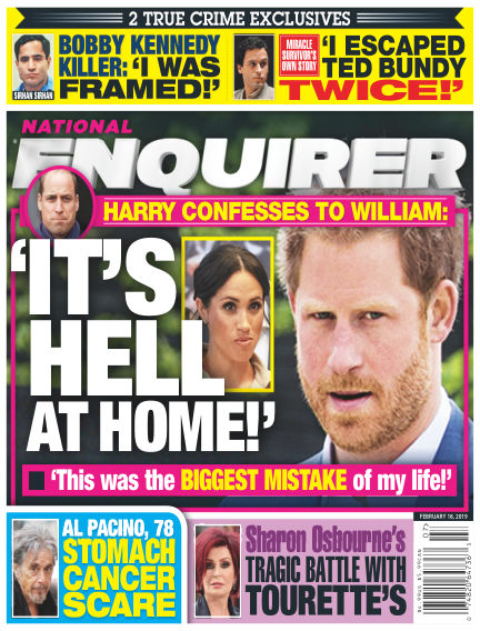 National Enquirer February 08, 2019 00:00