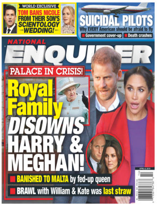 National Enquirer Apr 8 2019