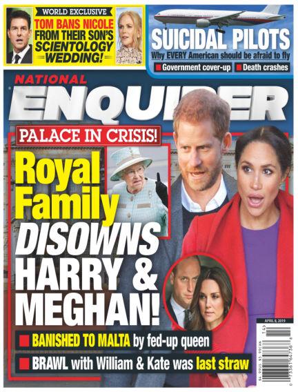 National Enquirer March 29, 2019 00:00