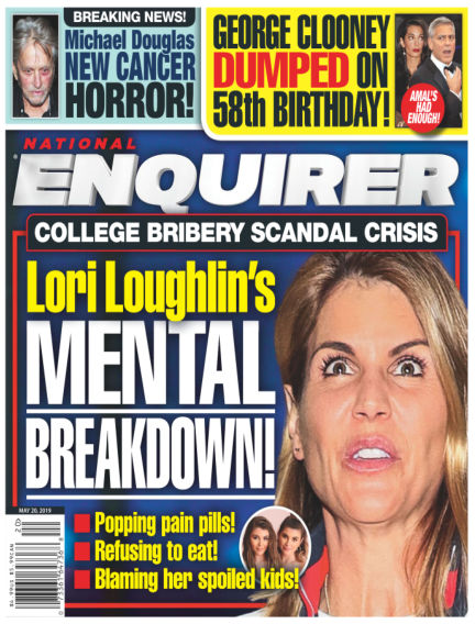 National Enquirer May 10, 2019 00:00