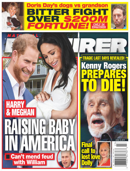 National Enquirer May 31, 2019 00:00