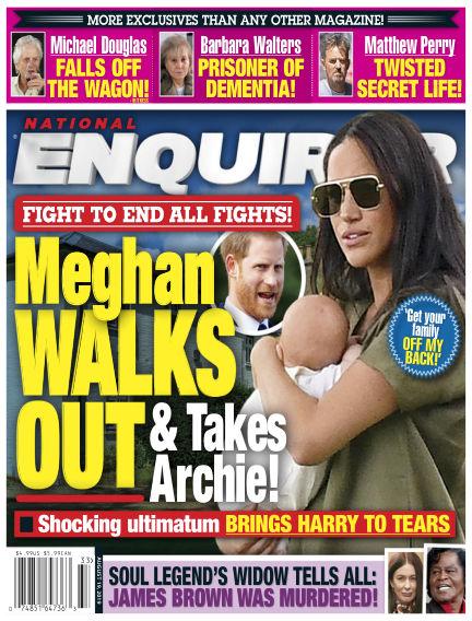 National Enquirer August 09, 2019 00:00