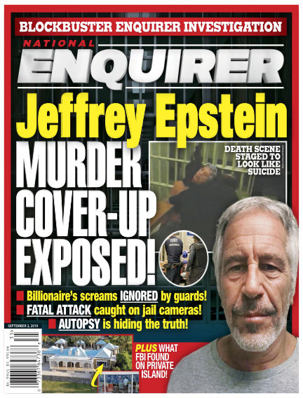 National Enquirer August 23, 2019 00:00