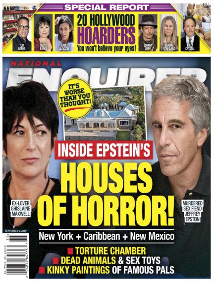 National Enquirer August 30, 2019 00:00
