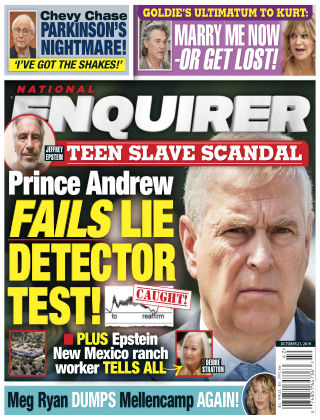 National Enquirer Oct 21 2019