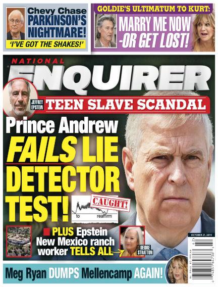 National Enquirer October 11, 2019 00:00