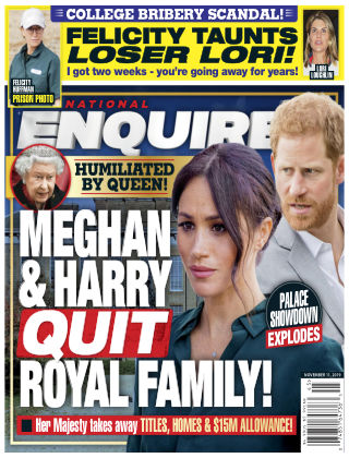 National Enquirer Nov 11 2019