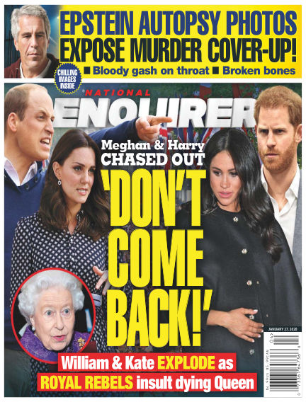 National Enquirer January 17, 2020 00:00