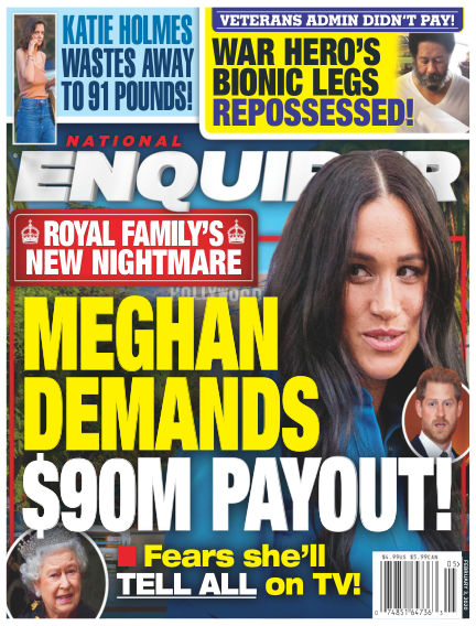 National Enquirer January 24, 2020 00:00