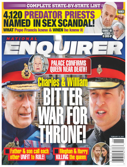National Enquirer January 31, 2020 00:00
