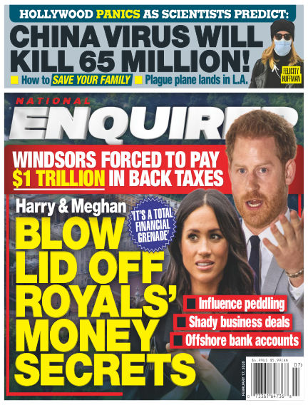 National Enquirer February 07, 2020 00:00
