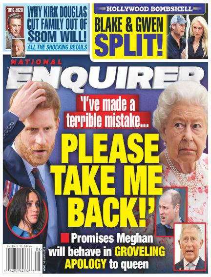 National Enquirer February 14, 2020 00:00