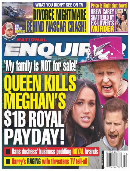 National Enquirer February 28, 2020 00:00