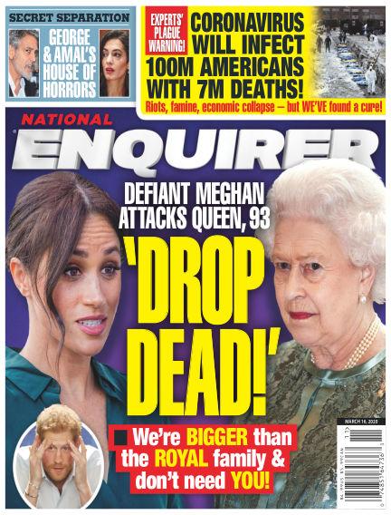 National Enquirer March 06, 2020 00:00