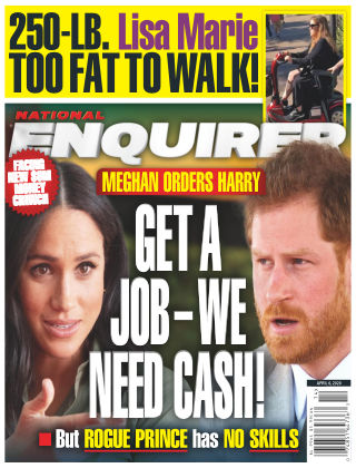 National Enquirer Apr 6 2020