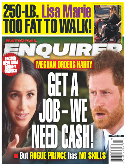 National Enquirer March 27, 2020 00:00