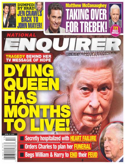 National Enquirer April 17, 2020 00:00