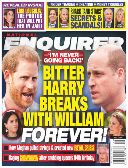 National Enquirer April 24, 2020 00:00