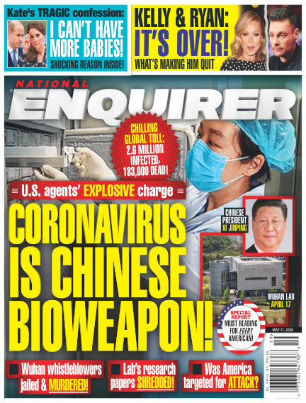 National Enquirer May 01, 2020 00:00
