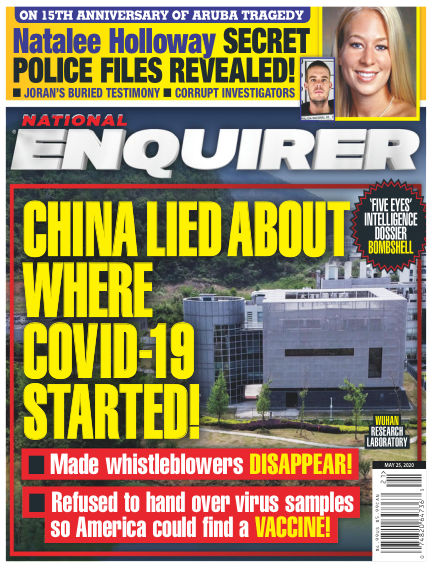 National Enquirer May 15, 2020 00:00