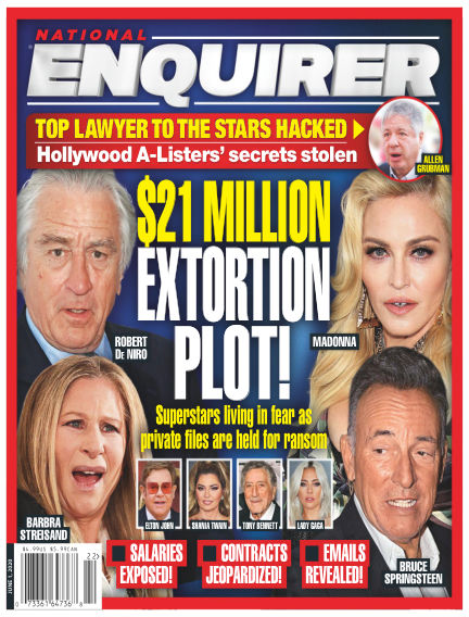 National Enquirer May 22, 2020 00:00