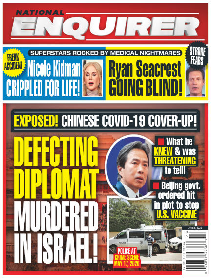 National Enquirer May 29, 2020 00:00