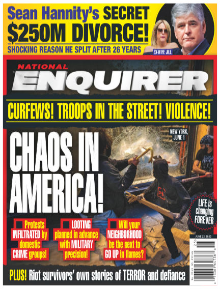 National Enquirer June 12, 2020 00:00