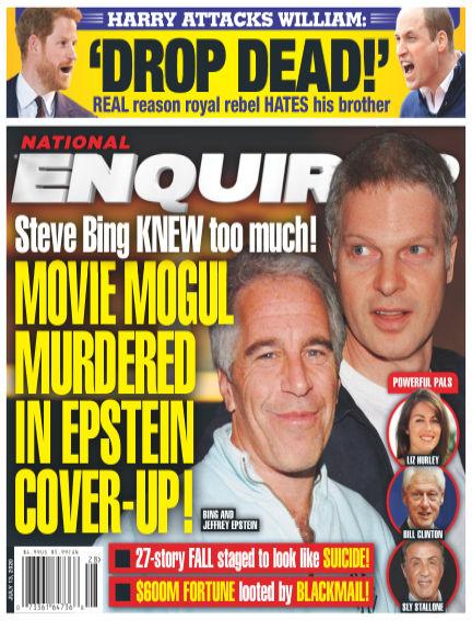 National Enquirer July 03, 2020 00:00