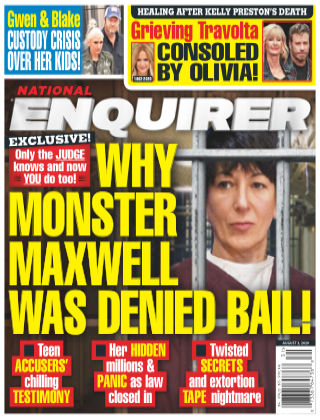 National Enquirer August 03 2020
