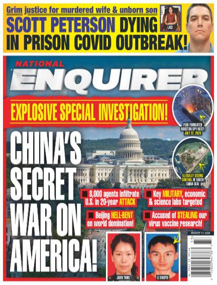 National Enquirer August 07, 2020 00:00
