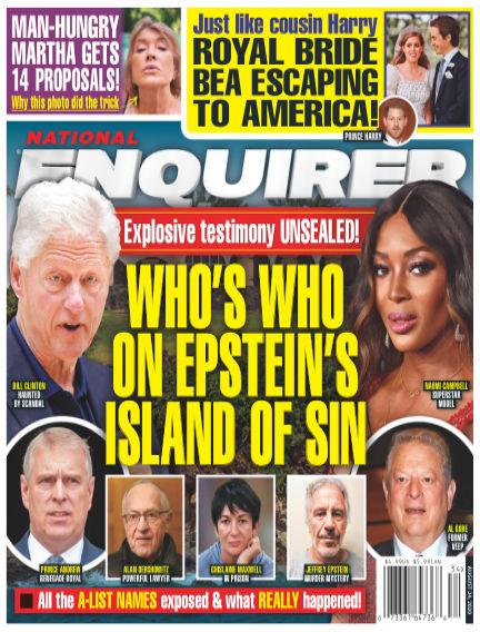 National Enquirer August 14, 2020 00:00