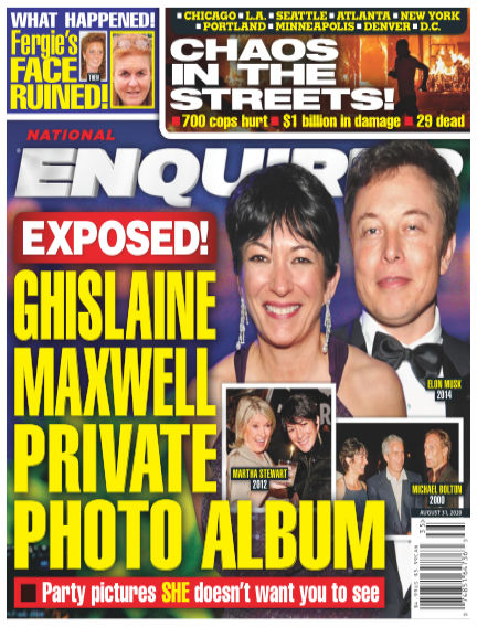 National Enquirer August 21, 2020 00:00