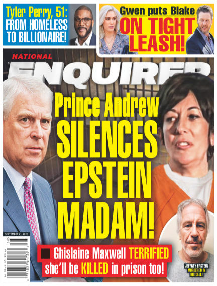 National Enquirer September 11, 2020 00:00
