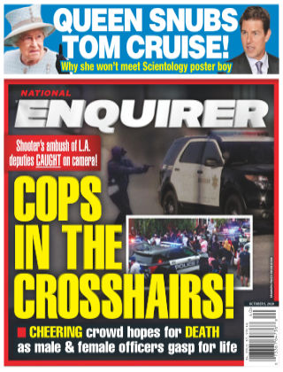 National Enquirer October 5th 2020