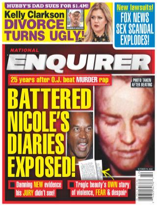 National Enquirer October 19th 2020