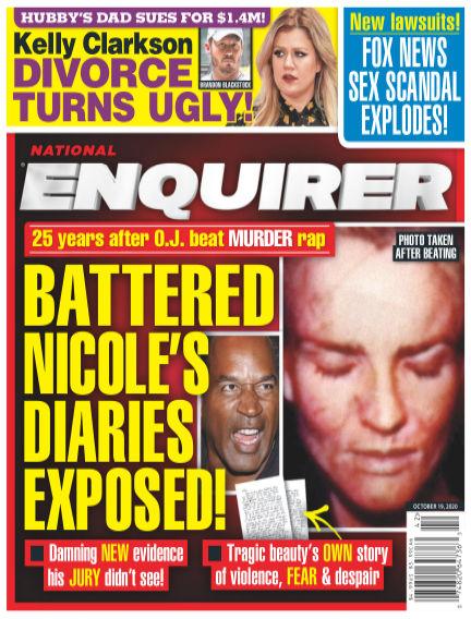National Enquirer October 09, 2020 00:00