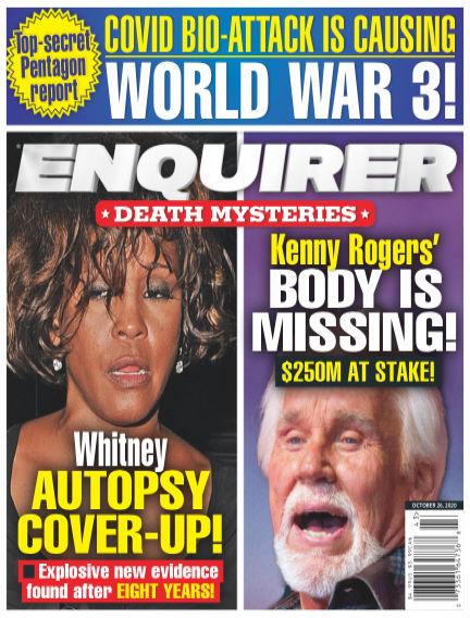 National Enquirer October 16, 2020 00:00