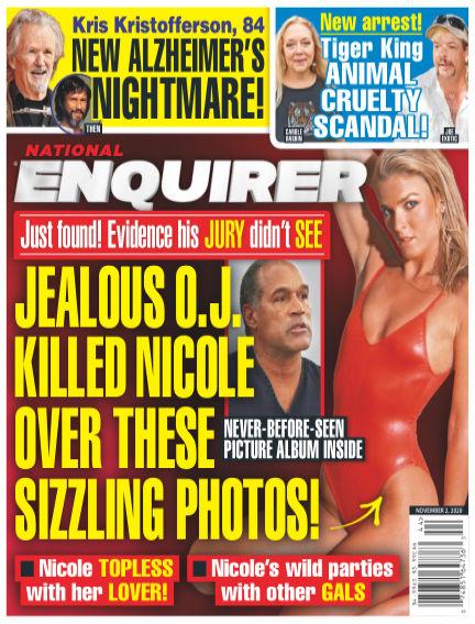 National Enquirer October 23, 2020 00:00