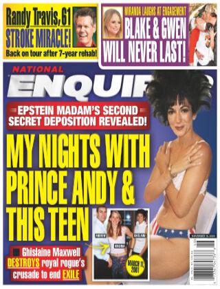 National Enquirer November 16, 2020