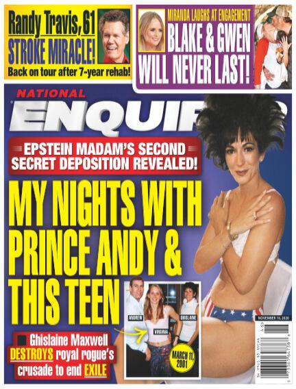 National Enquirer November 06, 2020 00:00