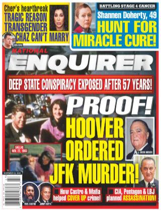 National Enquirer November 23rd 2020