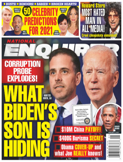 National Enquirer December 25, 2020 00:00