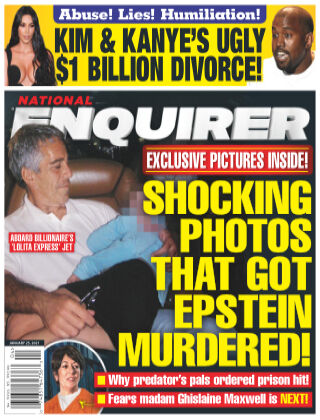 National Enquirer January 25 2021