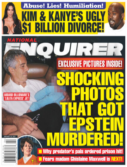 National Enquirer January 15, 2021 05:00