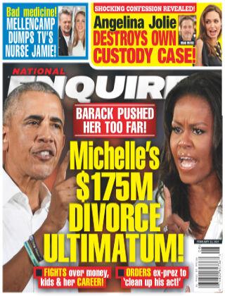 National Enquirer February 22 2021
