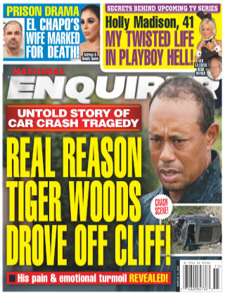 National Enquirer 15th March 2021